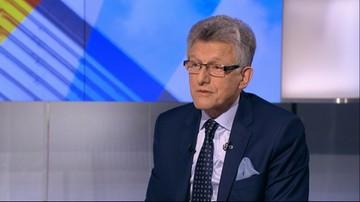 Piotrowicz: nie wystarczy ubrać się w togę i założyć łańcuch na szyję