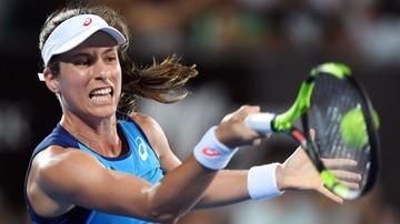 2017-01-12 Turniej WTA w Sydney: Konta finałową rywalką Radwańskiej