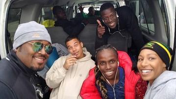 2016-11-16 Jamajscy bobsleiści wdzięczni życzliwym mieszkańcom Calgary