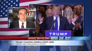 Trump i Clinton triumfują w Nowym Jorku
