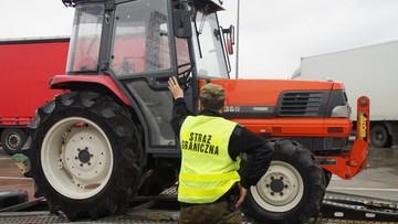 26-09-2017 09:35 Na Ukrainę wiózł na lawecie traktor skradziony w... Japonii
