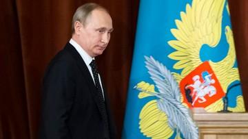 "30-06-2016 14:45 Putin: NATO podejmuje wobec Rosji ""realne kroki konfrontacyjne"""