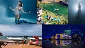 2016-11-21 Dokładają sobie ogon, by pomóc chronić oceany. Syrenia moda opanowuje świat