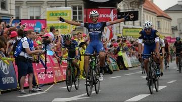 12-07-2016 17:05 Martinelli wygrał Tour de Pologne w Warszawie