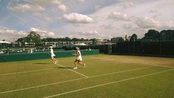 2016-07-09 Wimbledon: Świątek odpadła w półfinale debla juniorek
