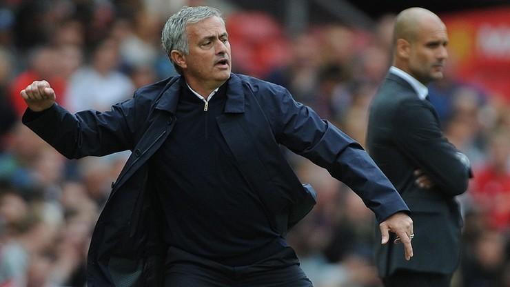 Mourinho rozpoczął swoją grę przed derbami. Wytknął City symulowanie