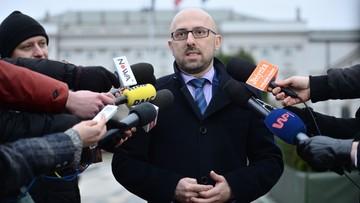 Łapiński: prezydent oczekuje zamknięcia tematu rekonstrukcji tak szybko, jak to możliwe