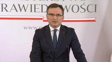 """14-12-2017 11:39 """"Wyszli bardzo zadowoleni"""". Woś o spotkaniu w """"cztery oczy"""" Morawiecki-Ziobro"""