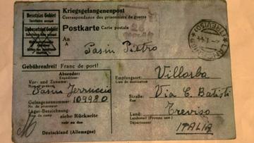 10-02-2016 10:37 Włoski jeniec wojenny wysłał pocztówkę 72 lata temu. Właśnie dotarła