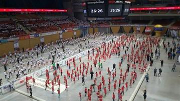 2015-10-21 Rekord Guinnessa pobity w Gdańsku! Piłka ręczna rośnie w siłę