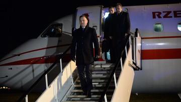 18-01-2016 05:49 Prezydent Duda w Brukseli. Na początek spotkanie z Donaldem Tuskiem
