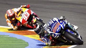 2015-11-10 Mnóstwo wywrotek podczas testów MotoGP w Walencji