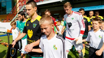 2015-09-05 1 liga: PGE GKS Bełchatów - GKS Katowice 1:2. Skrót meczu