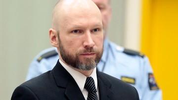 11-01-2017 13:48 Prokurator: Breivik chce szerzyć z więzienia swoją ideologię