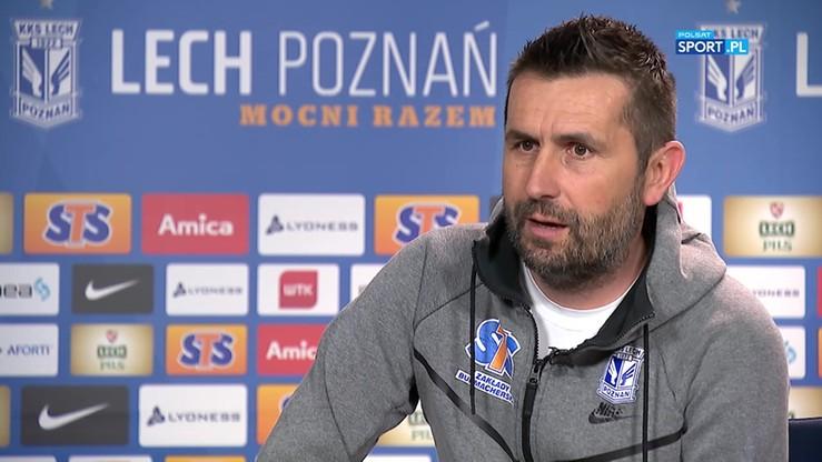 Bjelica: Wygranie Pucharu Polski jest tak samo ważne jak zwycięstwo w lidze
