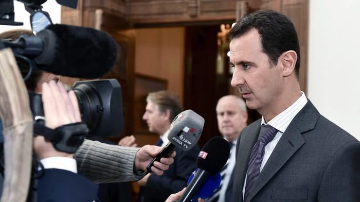 "Baszar el-Asad oskarżył Francuzów o politykę powodującą ""ekspansję terroryzmu"""