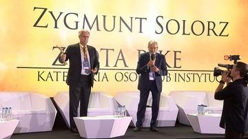 10-10-2017 14:18 Nagroda dla twórcy Telewizji Polsat. Zygmunt Solorz otrzymał Złotą PIKE