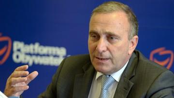 Schetyna: Macierewicz powinien zostać zawieszony przez premier Szydło
