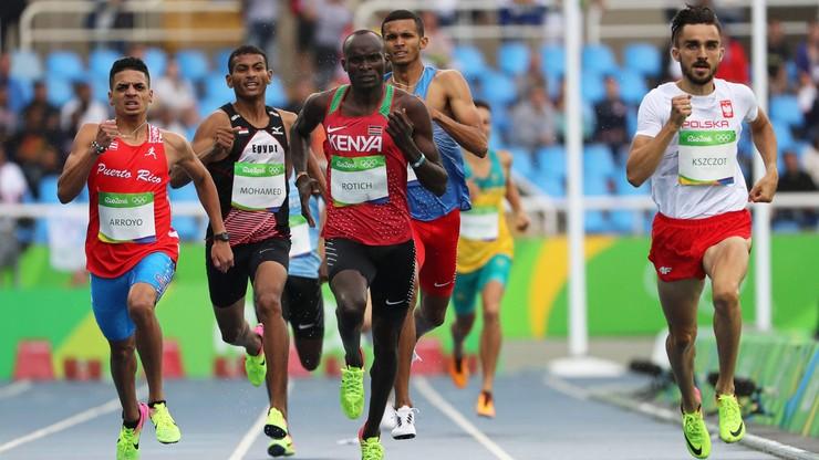 Rio 2016: Kszczot i Lewandowski w półfinale na 800 m
