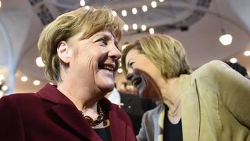 26-02-2016 12:22 Merkel i CDU zyskuje w sondażach. Coraz więcej Niemców za polityką migracyjną kanclerz