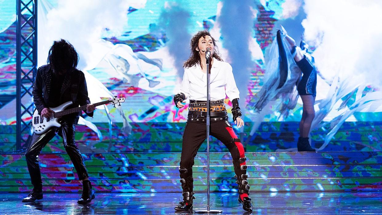 """14-10-2017 11:38 """"Twoja Twarz Brzmi Znajomo"""": Kasia Moś jako Michael Jackson"""