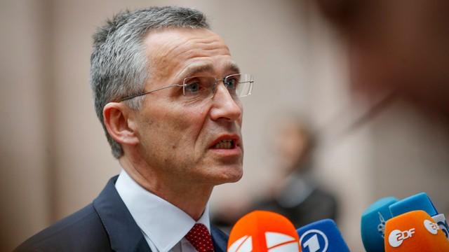 Szef NATO: Rosja musi wycofać żołnierzy i broń z Ukrainy