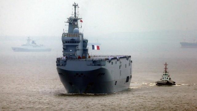 Francja zwróciła Rosji zaliczkę za Mistrale