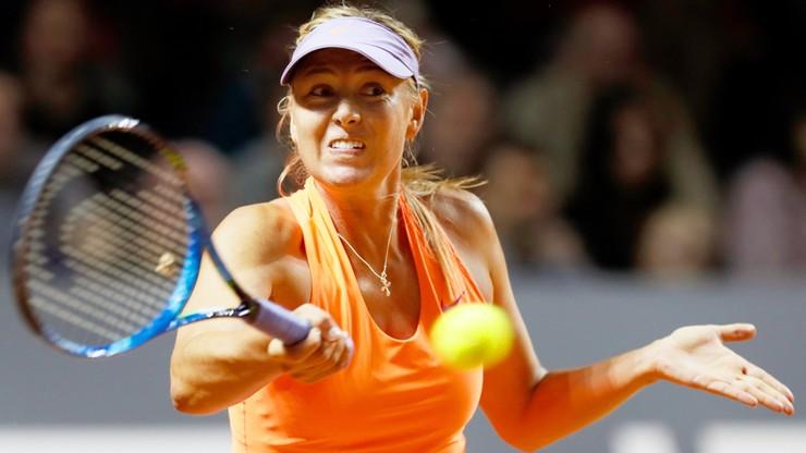 WTA Stuttgart: Szarapowa zaczęła od zwycięstwa