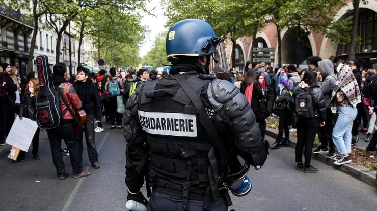"""""""Ani Marine, ani Macron"""". Uczniowie we Francji zablokowali szkoły"""