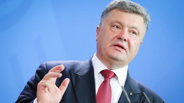 Ukraina: Poroszenko żąda nowych sankcji wobec Rosji