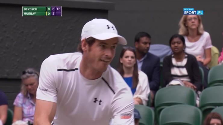 Andy Murray - Tomas Berdych 3:0. Skrót meczu