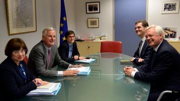 17-07-2017 12:34 Brexit: rozpoczęto merytoryczne negocjacje