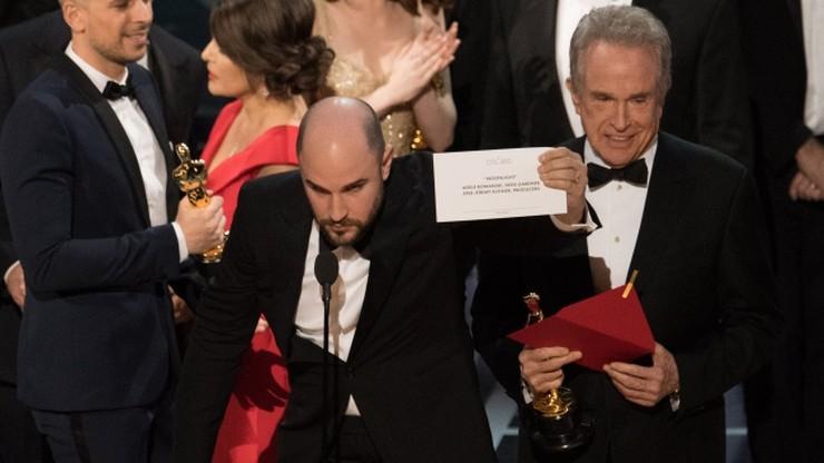 """Przepraszają za wpadkę na gali Oscarów. """"Sprawdzamy, jak do tego doszło"""""""