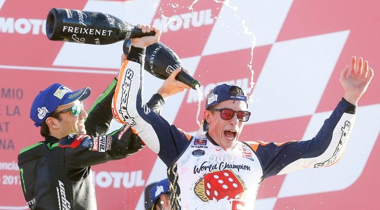 Motocyklowe MŚ: Czwarty w ciągu pięciu lat triumf Marqueza w MotoGP