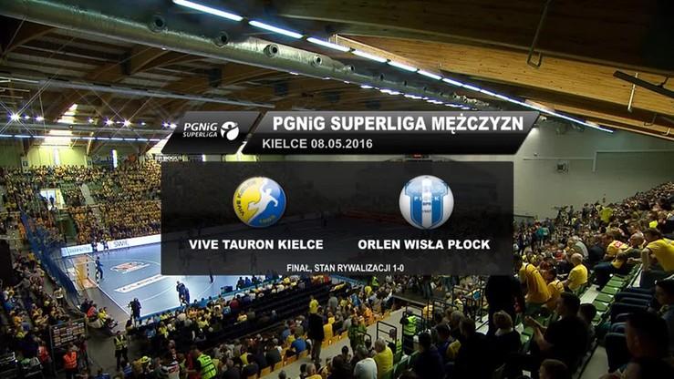 Vive Tauron Kielce - Orlen Wisła Płock 33:26. Skrót meczu