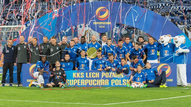 Lech - Legia 3:1. Superpuchar dla poznaniaków