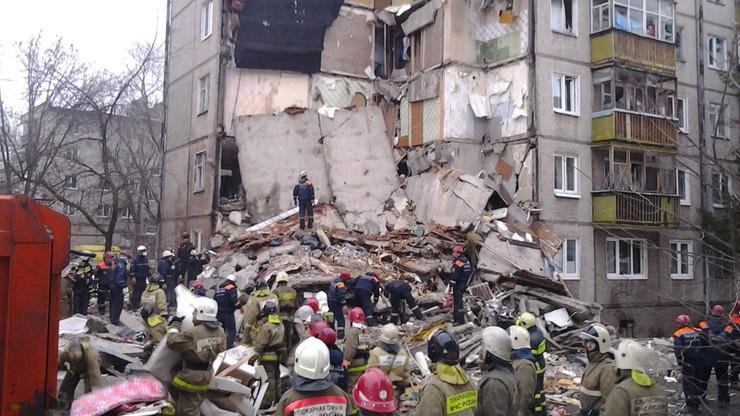 Wybuch gazu w rosyjskim Jarosławiu. Siedem osób nie żyje