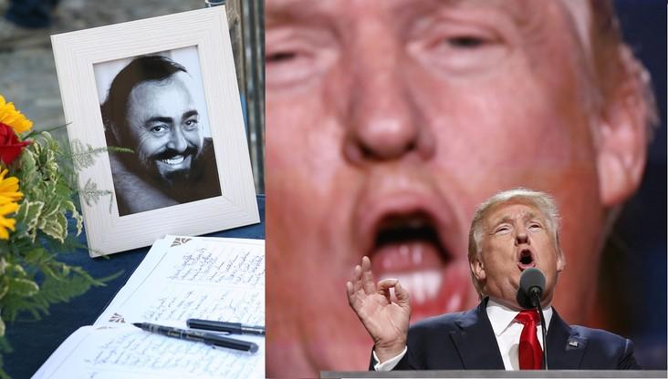 Rodzina Pavarottiego odcina się od Trumpa. Nie chcą, by arie tenora uświetniały wiece kandydata na prezydenta
