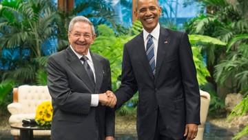 21-03-2016 17:02 Historyczny uścisk dłoni: Barack Obama spotkał się z Raulem Castro