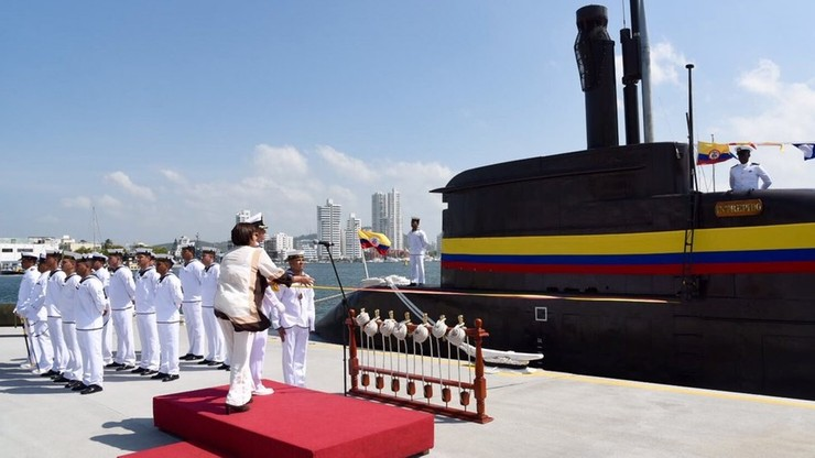 Kolumbia kupiła okręty podwodne z Niemiec