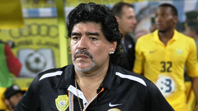 Maradona chce kandydować na prezydenta FIFA