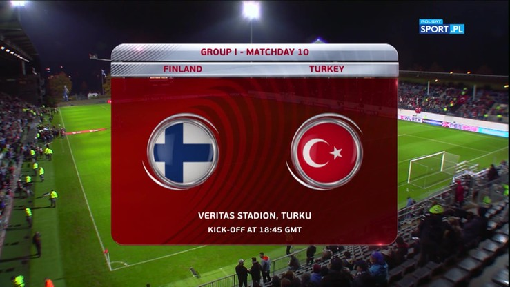 Finlandia - Turcja 2:2. Skrót meczu