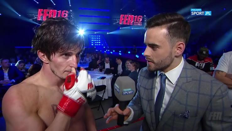 Shamaev: W pierwszej rundzie... nie słuchałem narożnika!