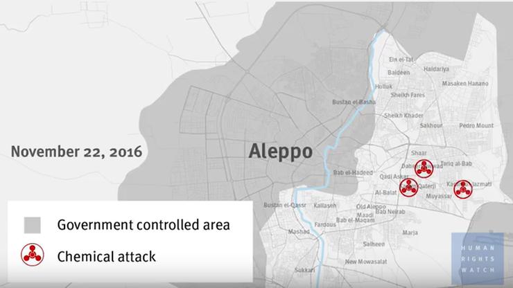 Broń chemiczna użyta w Syrii. Francja apeluje do ONZ o reakcję