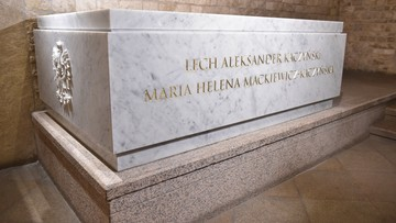 18-11-2016 09:08 Nowy sarkofag gotowy. Dziś ponowny pochówek pary prezydenckiej