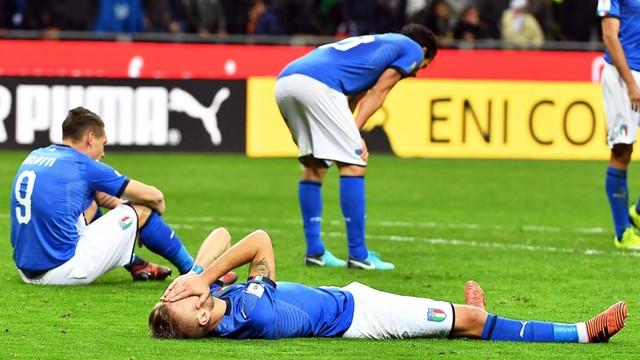 Sensacja w eliminacjach do mundialu. Włosi nie jadą do Rosji!