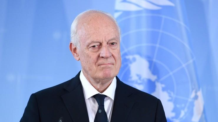 ONZ: wznowienie rozmów ws. Syrii możliwe pod koniec sierpnia