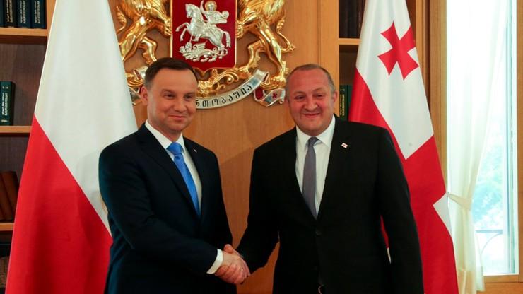 Prezydent: jestem rzecznikiem pełnego członkostwa Gruzji w NATO