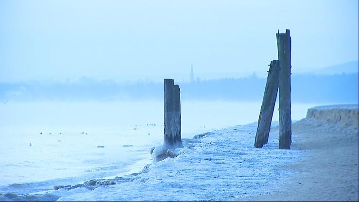 Zima nad morzem