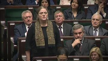 Krystyna Pawłowicz przyznaje, że zapis z ustawy narusza konstytucję, ale go poprze